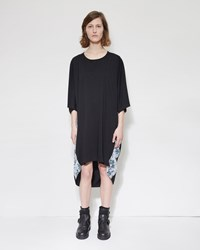 Y's Side Panel Dress Black
