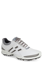 Ecco 'Biom' Hydromax Waterproof Golf Shoe Men White Silver