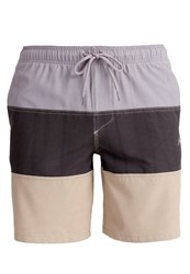 Rusty Trident Swimming Shorts Beige