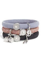 Marc Jacobs Charm Ponytail Holders Set Of 3