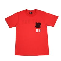 Undefeated T Shirt Red