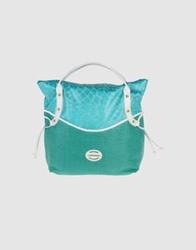 Capoverso Large Fabric Bags Turquoise