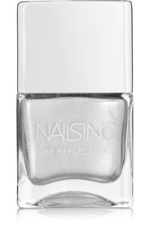 Nails Inc The Reflectors Nail Polish Kings Cross Road Silver