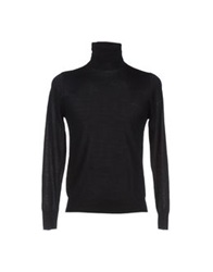 Hosio Turtlenecks Black