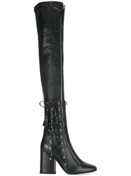 Laurence Dacade Thigh High Boots Black
