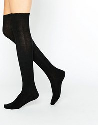 Jonathan Aston Harmony Over The Knee Socks Black