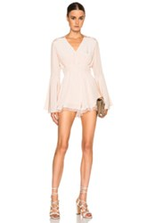 Alexis Martine Romper In Pink