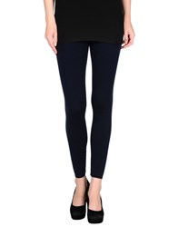 Pinko Tag Trousers Leggings Women Dark Blue
