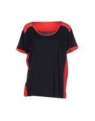 Roberto Collina Topwear T Shirts Women Dark Blue