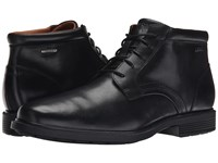 Rockport Dressports Luxe Waterproof Chukka Black Men's Lace Up Boots