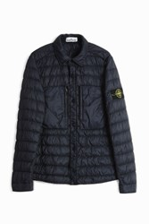 Stone Island Puffa Over Shirt Navy