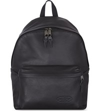 Eastpak Padded Pak'r Backpack Black Leather