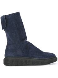 Officine Creative 'Kraced' Boots Blue
