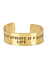 Alisa Michelle The Best Revenge Cuff Metallic