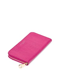 Aspinal Of London Continential Clutch Wallet Pink