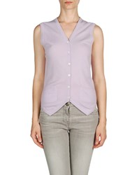 Ballantyne Knitwear Cashmere Jumpers Women Lilac