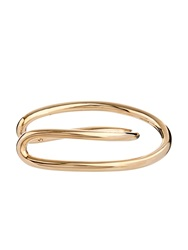 Charlotte Chesnais Initial Gold Plated Cuff