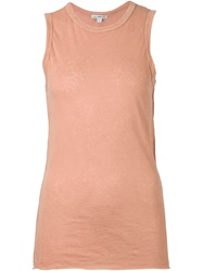 James Perse Sleeveless Top Nude And Neutrals
