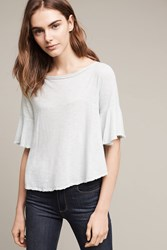 Anthropologie Curtail Tee Turquoise