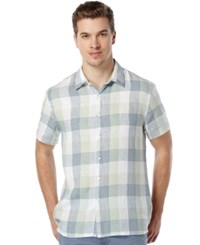 Perry Ellis Men's Big And Tall Buffalo Check Shirt