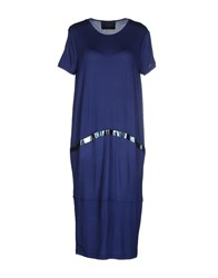 Kai Aakmann Kai Aakmann Dresses Knee Length Dresses Women Dark Blue