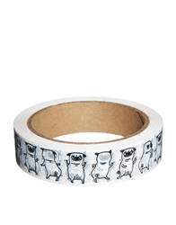 Ohh Deer Pug Wrapping Tape Multi