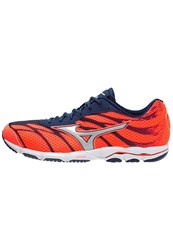 Mizuno Wave Hitogami 3 Competition Running Shoes Fiery Coral Glacier Gray Blue Depths