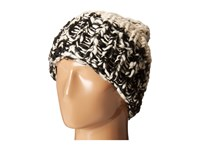 San Diego Hat Company Knh3402 Chunky Yarn Beanie With Oversized Cuff Black White Beanies