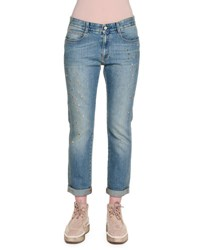 Stella Mccartney Star Studded Denim Boyfriend Jeans