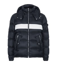 Givenchy Stripe Puffer Jacket Male Black