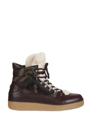 Moncler Aile Froide Boots Brown