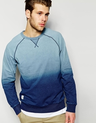 Native Youth Dip Dye Indigo Sweatshirt