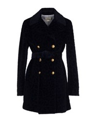 Band Of Outsiders Coats Dark Blue