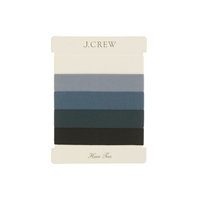 J.Crew Elastic Hair Tie Pack Wild Navy Multi