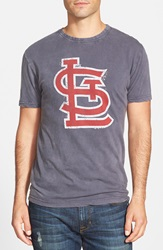 Red Jacket 'St. Louis Cardinals Scatter' Burnout T Shirt Navy