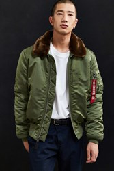 Alpha Industries B 15 Slim Fit Bomber Jacket Brown