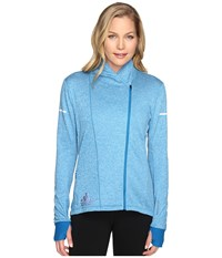 Adidas Sequencials Climaheat Wrap Jacket Unity Blue Women's Coat