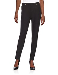 Michael Michael Kors Petite Textured Leggings Black