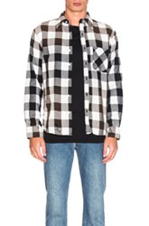 Nsf Axel Shirt In Checkered And Plaid Checkered And Plaid