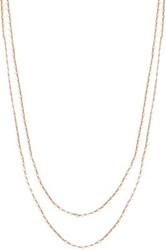 Feathered Soul Women's Seed Pearl Long Necklace No Color