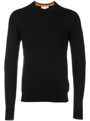 Comme Des Garcons Shirt Crew Neck Jumper Black