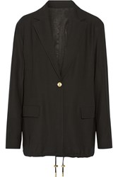 Acne Studios Ryley Twill Blazer Black