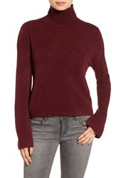 Women's Bp. Boxy Crop Turtleneck Sweater