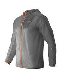 New Balance Packable Jacket Grey