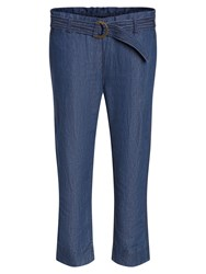 Marc O'polo Karby Trousers Wide Leg Blue
