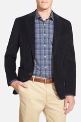 Nordstrom Classic Fit Stretch Corduroy Blazer Blue