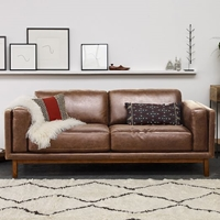 Dekalb Leather Sofa West Elm