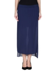 Kai Aakmann 3 4 Length Skirts Dark Blue