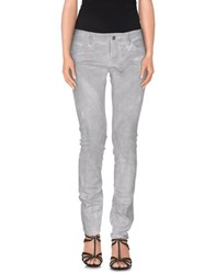 Daniele Alessandrini Denim Denim Trousers Women Light Grey