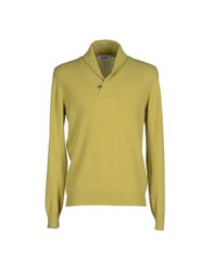 Gran Sasso Knitwear Jumpers Men Acid Green
